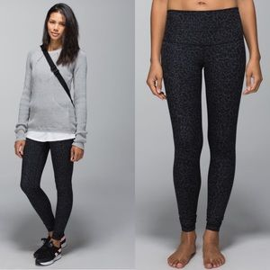 Lululemon Wunder Under Leggings Roll Down